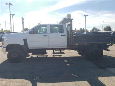 2020 Chevrolet Silverado 5500 Crew Cab DRW 4x4, Knapheide Drop Side Dump Body #LH856435 - photo 3