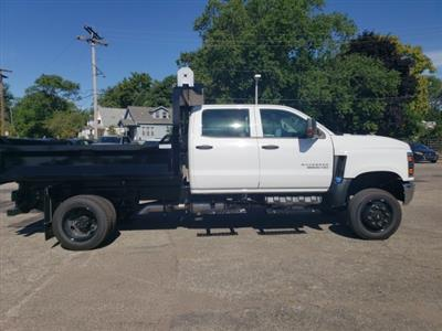 2020 Chevrolet Silverado 5500 Crew Cab DRW 4x4, Knapheide Drop Side Dump Body #LH856435 - photo 6