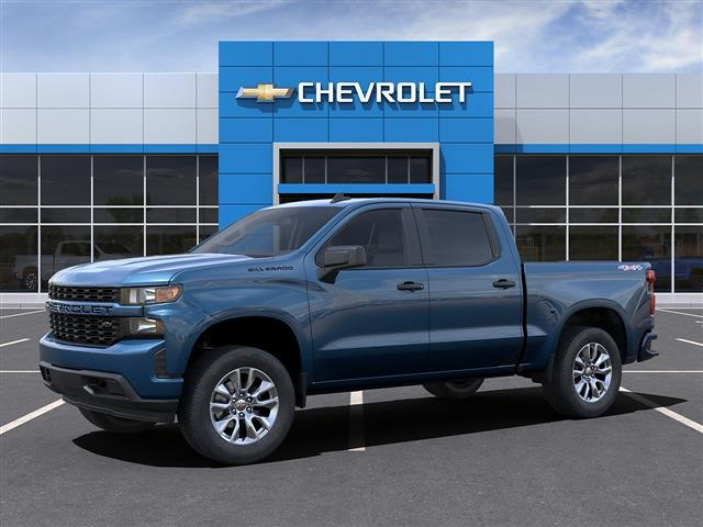 2021 Chevrolet Silverado 1500 Crew Cab 4x4, Pickup #MZ234798 - photo 4