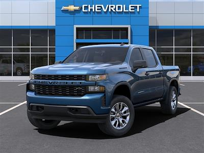 2021 Chevrolet Silverado 1500 Crew Cab 4x4, Pickup #MZ234798 - photo 8