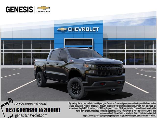 2021 Chevrolet Silverado 1500 Crew Cab 4x4, Pickup #MZ241680 - photo 1