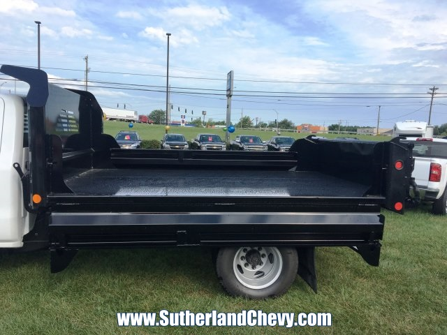 2018 Silverado 3500 Regular Cab DRW 4x4, Dump Body #214693-18 - photo 6