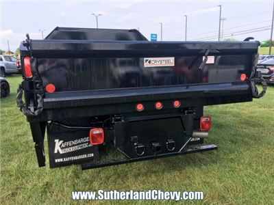 2018 Silverado 3500 Regular Cab DRW 4x4, Dump Body #214693-18 - photo 2