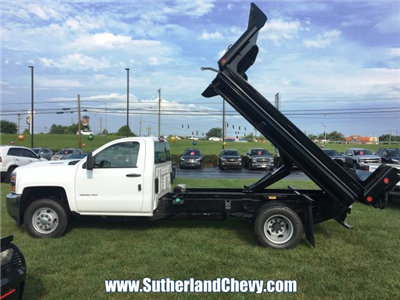 2018 Silverado 3500 Regular Cab DRW 4x4, Dump Body #214693-18 - photo 7