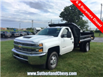 2018 Silverado 3500 Regular Cab DRW 4x4, Dump Body #214693-18 - photo 1