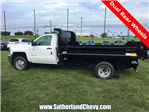 2018 Silverado 3500 Regular Cab DRW 4x4, Dump Body #214693-18 - photo 5