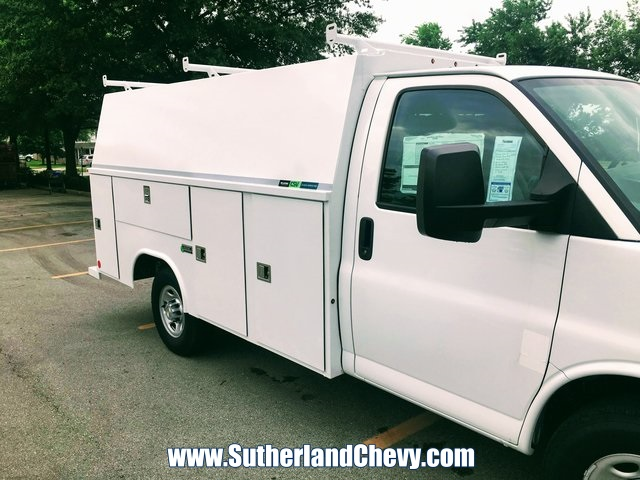 2018 Express 3500 4x2,  Reading Aluminum CSV Service Utility Van #235712-18 - photo 23