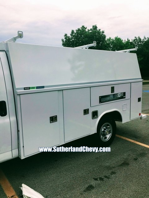 2018 Express 3500 4x2,  Reading Aluminum CSV Service Utility Van #235712-18 - photo 5