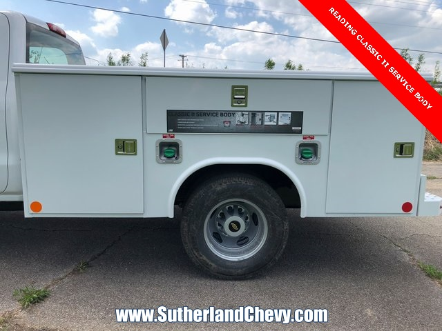 2018 Silverado 3500 Crew Cab DRW 4x4, Service Body #246354-18 - photo 7