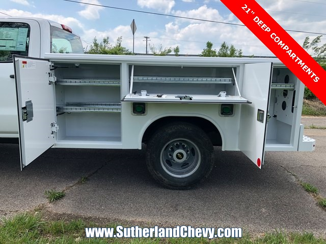 2018 Silverado 3500 Crew Cab DRW 4x4, Service Body #246354-18 - photo 2