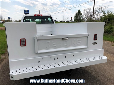 2018 Silverado 3500 Crew Cab DRW 4x4, Service Body #246354-18 - photo 14