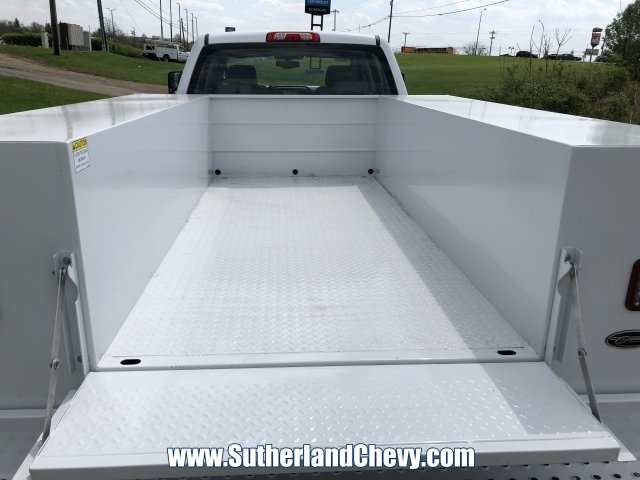 2018 Silverado 3500 Crew Cab DRW 4x4,  Reading Classic II Steel Service Body #246884-18 - photo 14