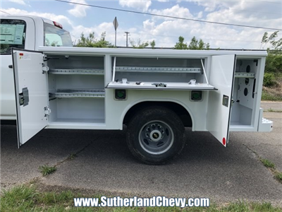 2018 Silverado 3500 Crew Cab DRW 4x4,  Reading Classic II Steel Service Body #246884-18 - photo 7