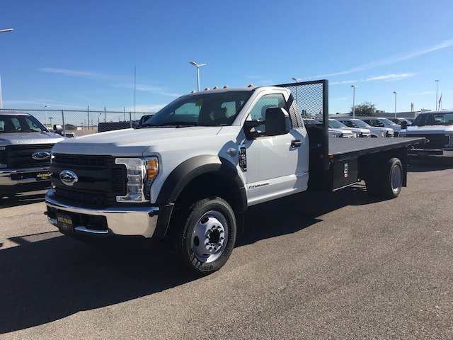 2017 F-450 Regular Cab DRW Platform Body #U0206 - photo 4