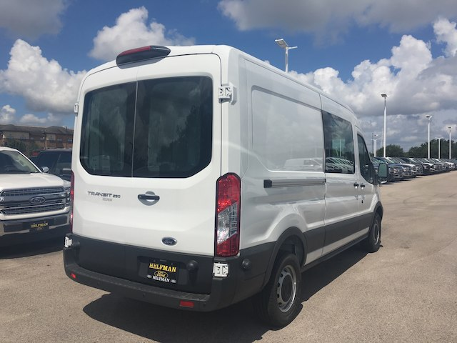 2018 Transit 250 Med Roof 4x2,  Empty Cargo Van #VK050 - photo 2