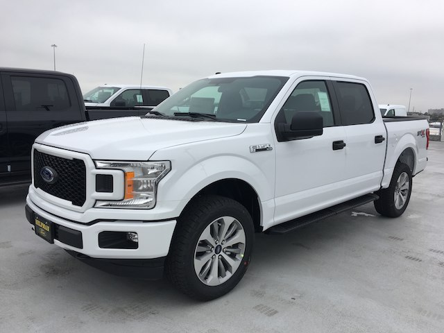 2018 F-150 SuperCrew Cab 4x4,  Pickup #VQ1249 - photo 3