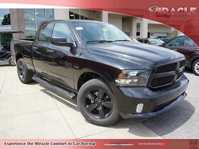 2018 Ram 1500 Quad Cab 4x4,  Pickup #8491-18 - photo 1