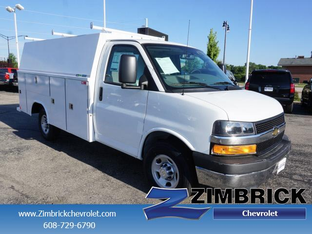 2018 Express 3500 4x2,  Reading Aluminum CSV Service Utility Van #C180893 - photo 1