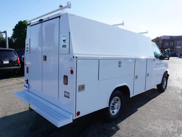 2018 Express 3500 4x2,  Reading Aluminum CSV Service Utility Van #C180893 - photo 2