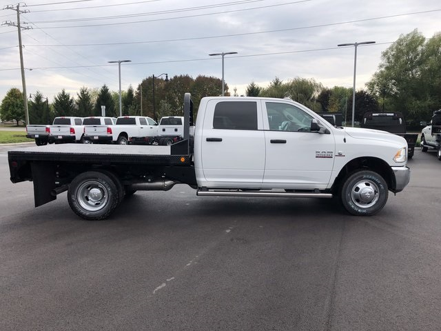 2017 Ram 3500 Crew Cab DRW 4x4, Platform Body #H2104 - photo 8