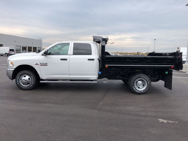 2017 Ram 3500 Crew Cab DRW 4x4, Dump Body #H2105 - photo 5