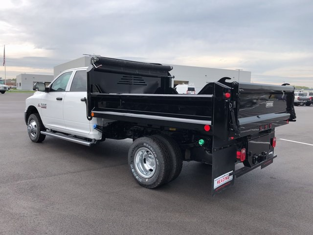 2017 Ram 3500 Crew Cab DRW 4x4, Dump Body #H2105 - photo 6