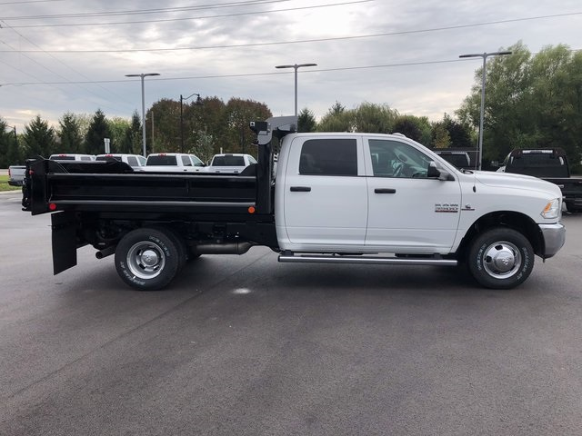 2017 Ram 3500 Crew Cab DRW 4x4, Dump Body #H2105 - photo 8