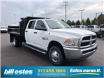 2017 Ram 3500 Crew Cab DRW 4x4, Dump Body #H2105 - photo 1