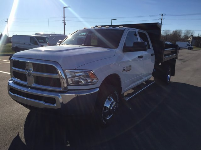 2017 Ram 3500 Crew Cab DRW 4x4,  Air-Flo Dump Body #H2192 - photo 4