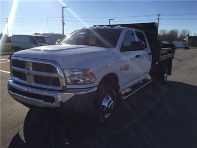 2017 Ram 3500 Crew Cab DRW 4x4,  Air-Flo Pro-Class Dump Body #H2192 - photo 4