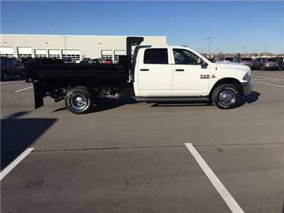 2017 Ram 3500 Crew Cab DRW 4x4, Dump Body #H2192 - photo 2