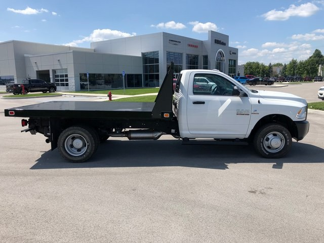 2017 Ram 3500 Regular Cab DRW 4x4,  Platform Body #T1676 - photo 8
