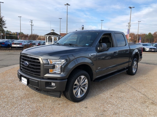 2017 F-150 SuperCrew Cab 4x4, Pickup #N161900A - photo 4