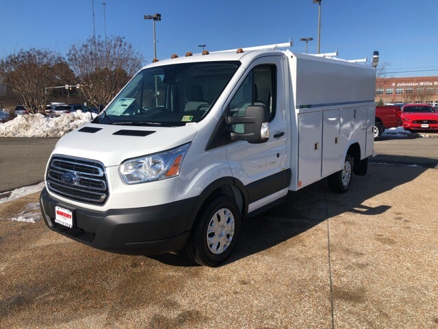 2019 Transit 350 4x2,  Reading Aluminum CSV Service Utility Van #NA07570 - photo 3