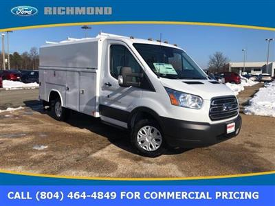 2019 Transit 350 4x2,  Reading Aluminum CSV Service Utility Van #NA07570 - photo 1