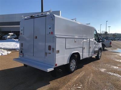 2019 Transit 350 4x2,  Reading Aluminum CSV Service Utility Van #NA07570 - photo 2