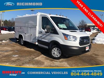 2019 Transit 350 4x2,  Reading Aluminum CSV Service Utility Van #NA07571 - photo 1