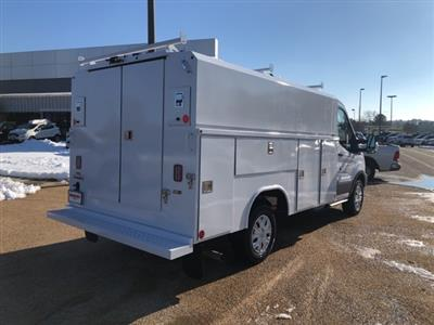 2019 Transit 350 4x2,  Reading Aluminum CSV Service Utility Van #NA07571 - photo 2