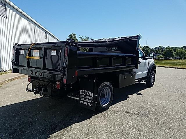 2020 Ford F-550 Regular Cab DRW 4x4, Rugby Eliminator LP Steel Dump Body #NA15411 - photo 2