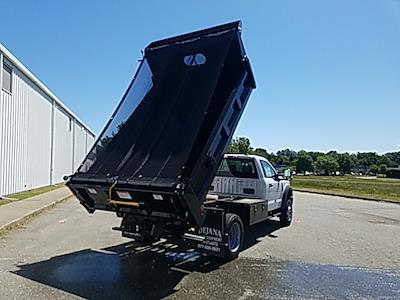 2020 Ford F-550 Regular Cab DRW 4x4, Rugby Eliminator LP Steel Dump Body #NA15411 - photo 12