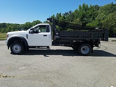 2020 Ford F-550 Regular Cab DRW 4x4, Rugby Eliminator LP Steel Dump Body #NA15411 - photo 5