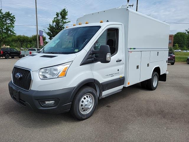 2021 Ford Transit 350 HD 4x2, Reading Aluminum CSV Service Utility Van #NA15757 - photo 4