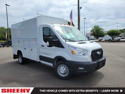 2021 Ford Transit 350 HD 4x2, Reading Aluminum CSV Service Utility Van #NA15757 - photo 1