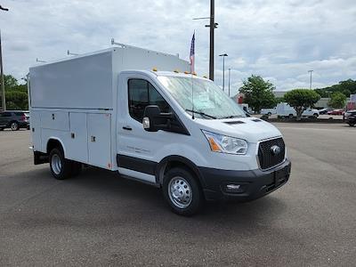 2021 Ford Transit 350 HD 4x2, Reading Aluminum CSV Service Utility Van #NA15757 - photo 9