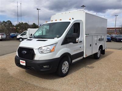 2020 Transit 350 RWD, Reading Aluminum CSV Service Utility Van #NA17404 - photo 4