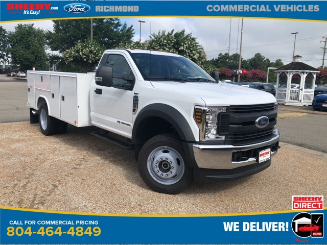 2019 Ford F-450 Regular Cab DRW 4x4, Reading Service Body #NA17642 - photo 1