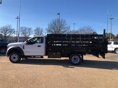2019 Ford F-550 Regular Cab DRW 4x2, Knapheide Value-Master X Stake Bed #NA17660 - photo 5