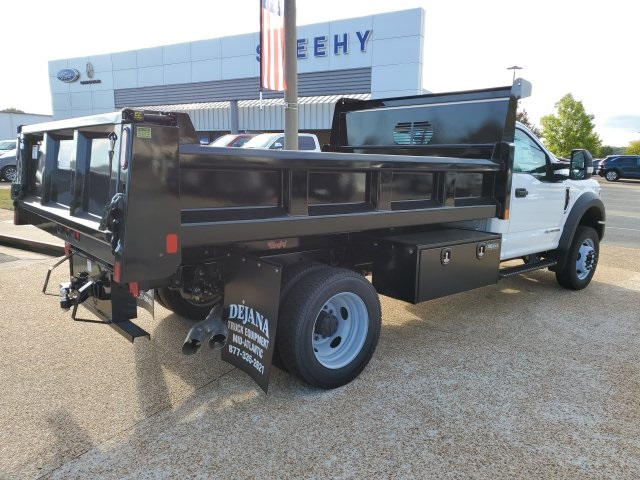 2019 F-550 Regular Cab DRW 4x4,  Rugby Eliminator LP Steel Dump Body #NA17664 - photo 2