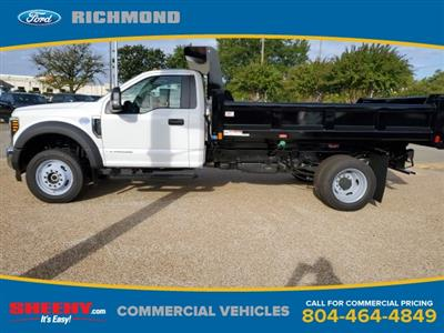 2019 F-550 Regular Cab DRW 4x4,  Rugby Eliminator LP Steel Dump Body #NA17664 - photo 4
