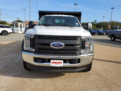 2019 F-550 Regular Cab DRW 4x4,  Rugby Eliminator LP Steel Dump Body #NA17664 - photo 6